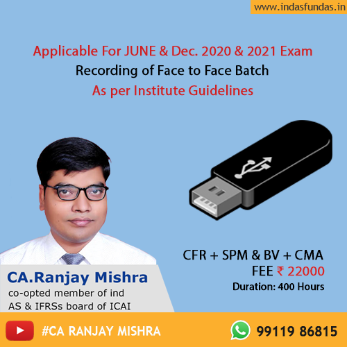 ca final pendrive classes