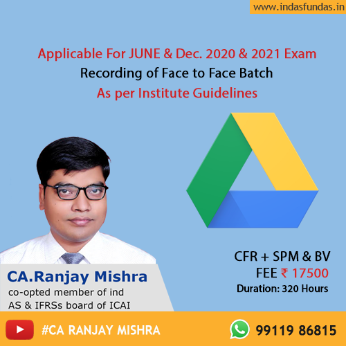CA Ranjay Mishra Classes